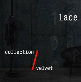 velvet / lace