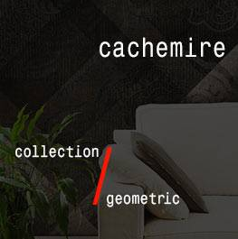 geometric / cachemire