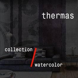 watercolor / thermas