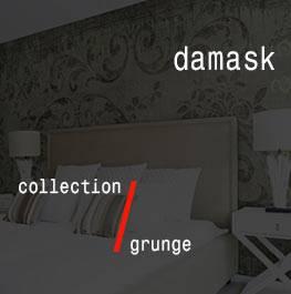 grunge / damask