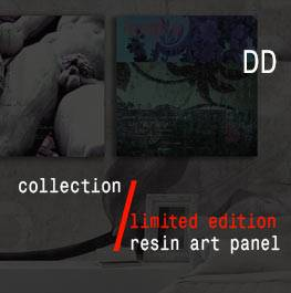 DD – resin art panel