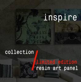 inspire – resin art panel