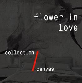 canvas / flower in love