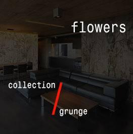 grunge / flowers