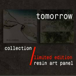 tomorrow – resin art panel