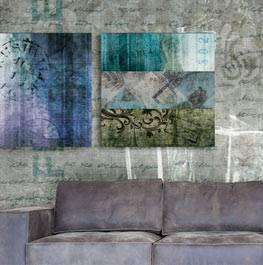 wallpaint – resin art panel