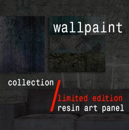 wallpaint – resin art panel