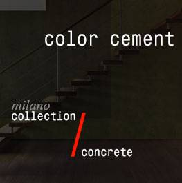 concrete / color cement