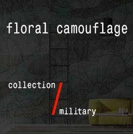 military / floral camouflage