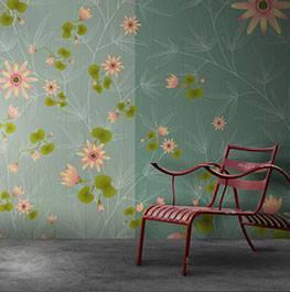 atelier / flora & fauna / aqua lilium