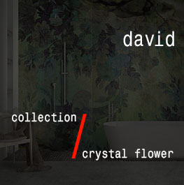 david / crystal flower