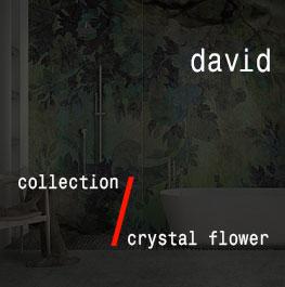 david / crystal flower