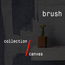 canvas / brush