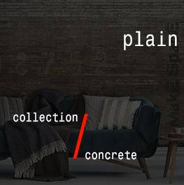 concrete / plain