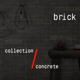 concrete / brick
