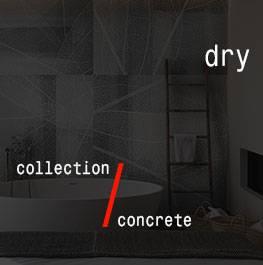 concrete / dry