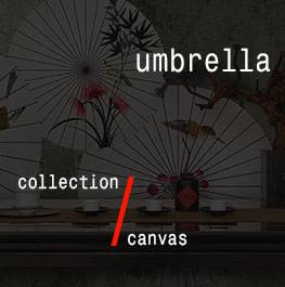 canvas / umbrella
