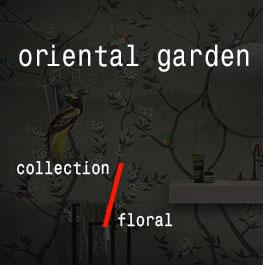 floral / oriental garden