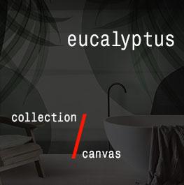 canvas / eucalyptus