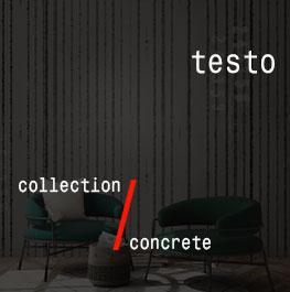 concrete / testo