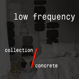 concrete / low frequency
