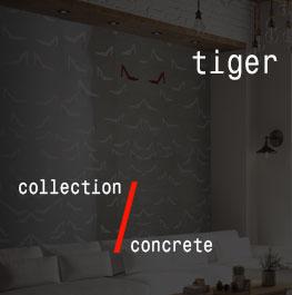concrete / tiger